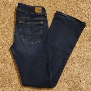 American Eagle Kick Boot Stretch Jeans, Size 6